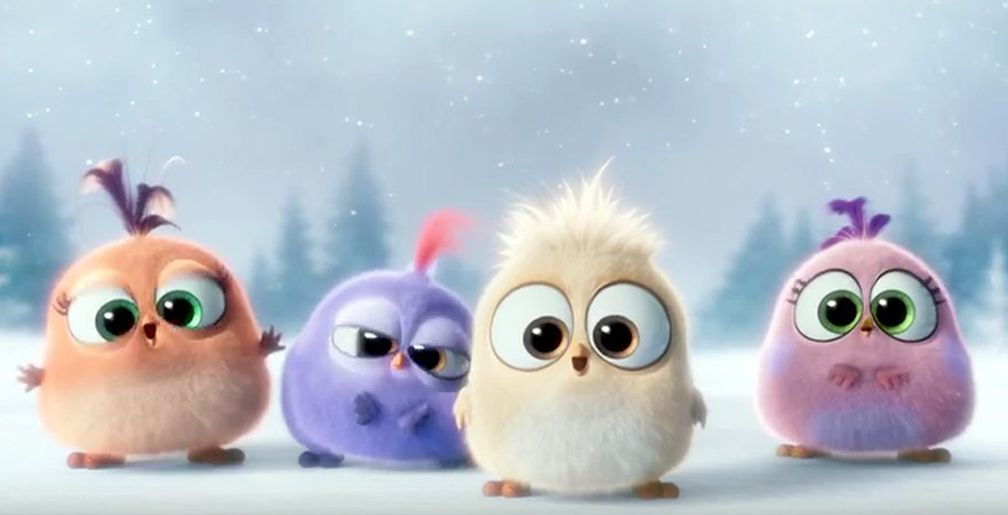 The angry birds movie hatchlings launch movie news angry birds film voir noel - Angry birds noel ...