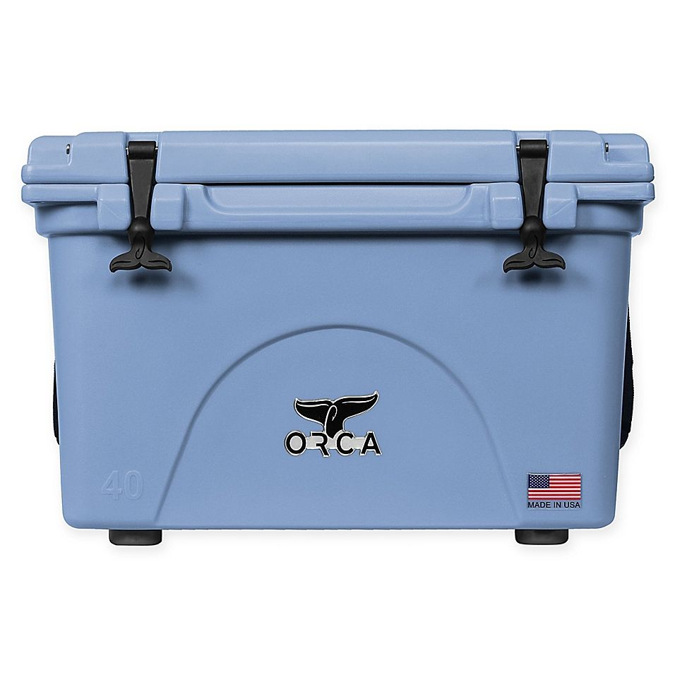 Orca 40 Qt Standing Cooler In 2020 Orca Cooler Orca Coolers For Sale