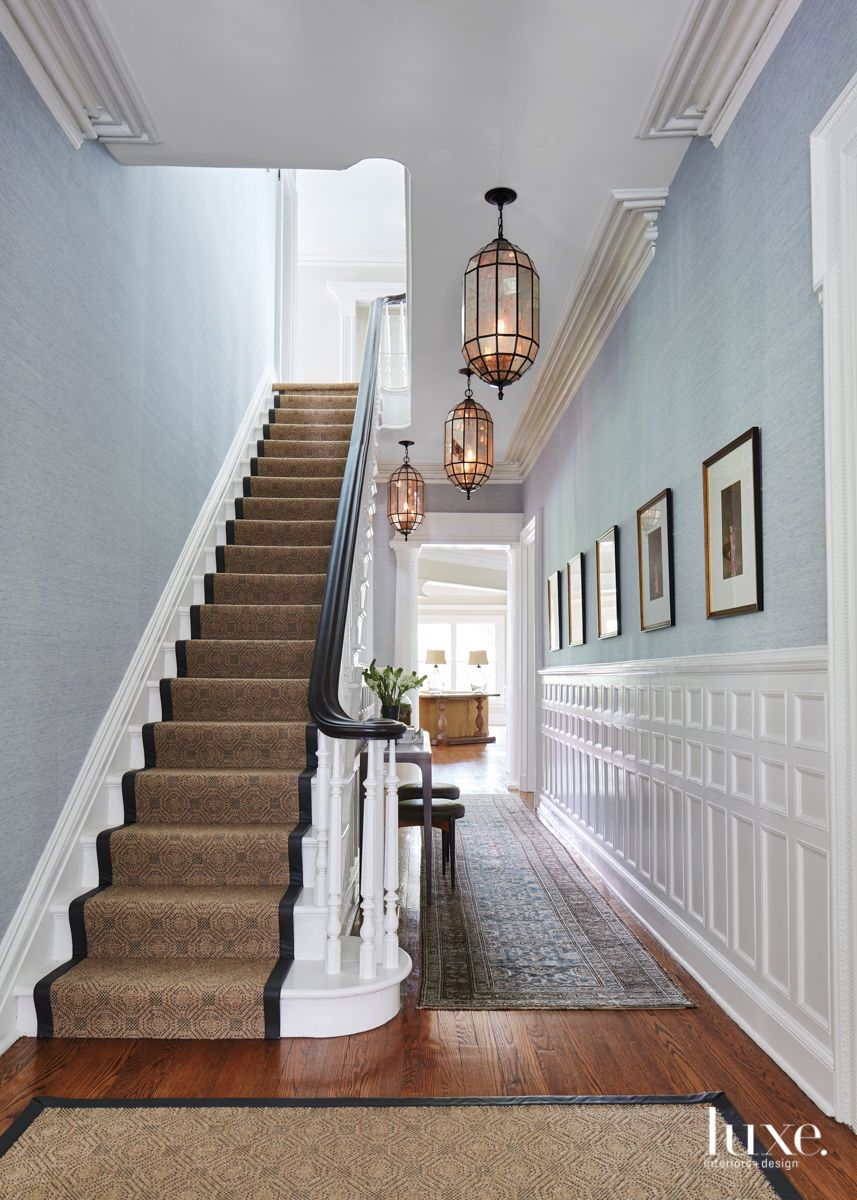 A Couple Updates A Victorian Home They Long Admired Luxe Interiors Design Victorian Homes Victorian Hallway Victorian Interior