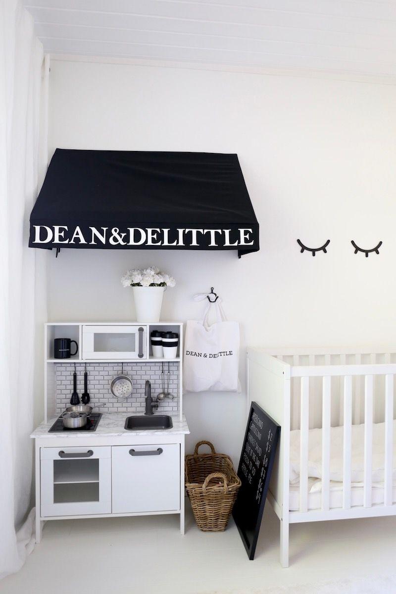 Homevialaura | Nursery | kids room decor | Ikea Duktig play kitchen ...