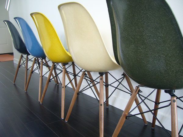 Marvelous Eames Shell Chair Fiberglass Restoration Herman Miller Plastolux Modern
