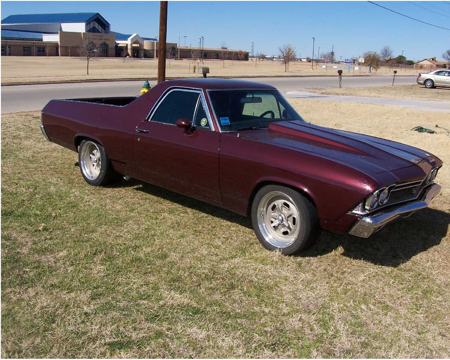 69 camino. my dream car. the only thing i would ever trade my \'81 ...