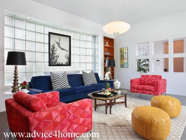 Cute Red And Blue Living Room Ideas 33 Regarding Interior Design For Home Remodeling With