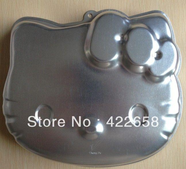 Free shipping 1PCS Aluminum Hello Kitty shape cake pan baking mold