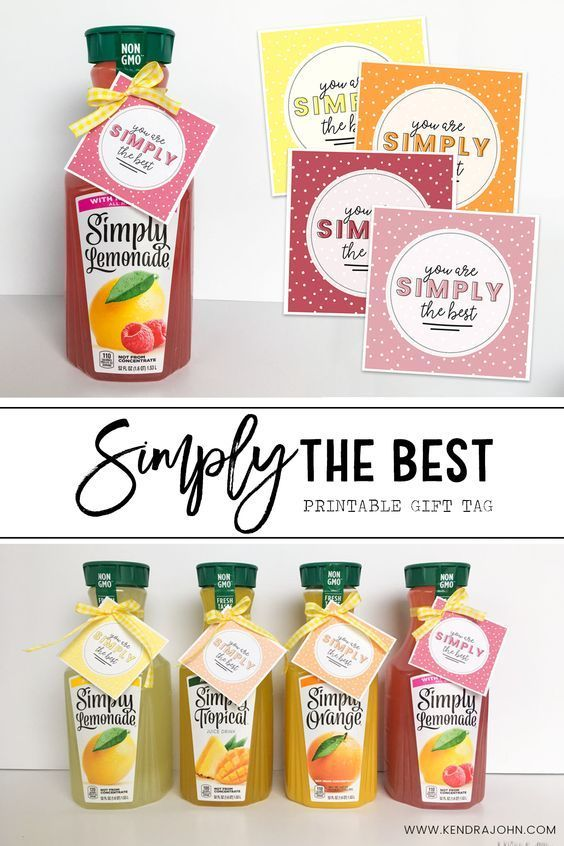 Teacher Thank You Gift Ideas that are Simple and include a Free Printable! #backtoschool #teachergift