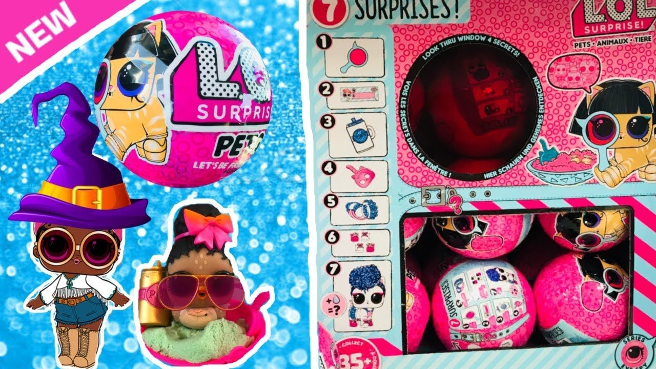 LOL Surprise pets eye spy Series 4 Wave 1 Authentic MGA 7 Surprises in 1