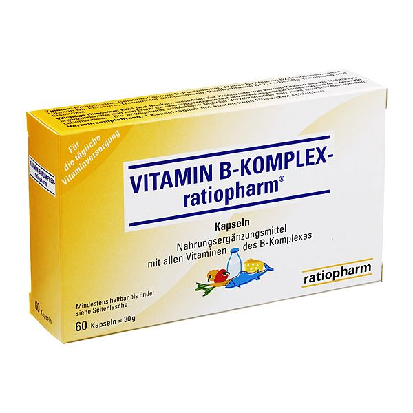 vitamin b komplex ratiopharm kapseln 60 stk vitamin b. Black Bedroom Furniture Sets. Home Design Ideas