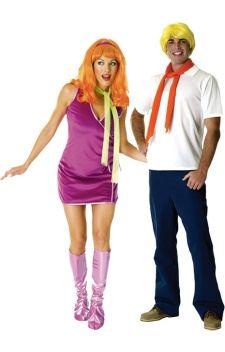 Daphn et fred amis du c l bre chien scooby doo costumes - Daphne scoubidou ...