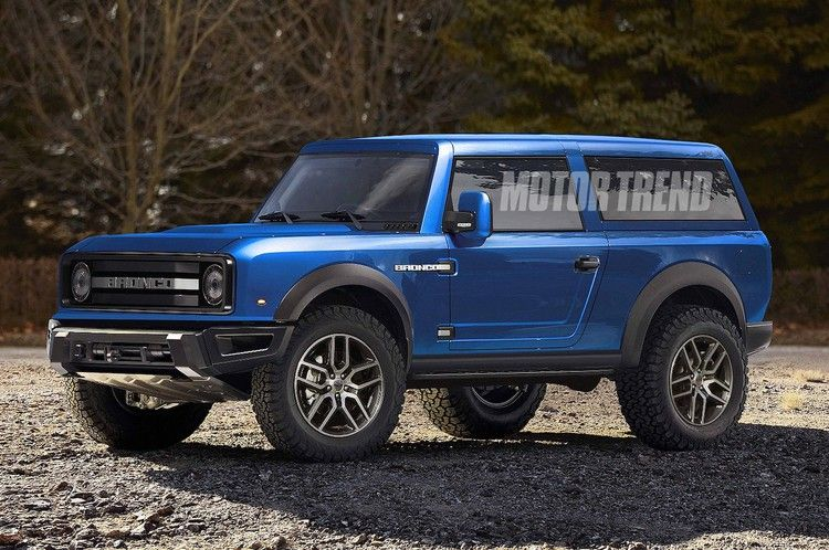 2021 Ford Bronco Will Reportedly Get A Removable Top And Doors