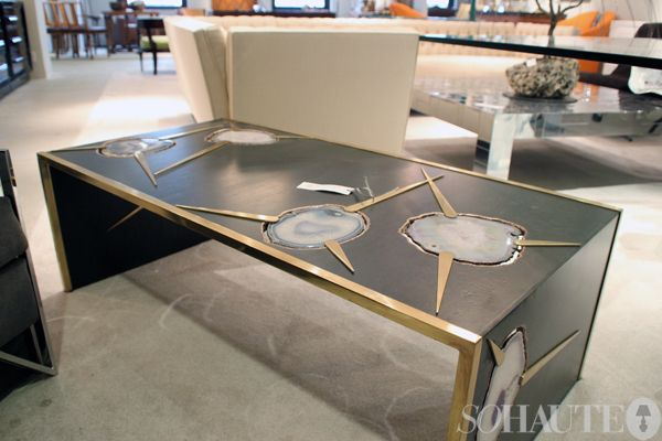Agate Coffee table! 1st Dibs at the New York Design Center - Agate Coffee Table! 1st Dibs At The New York Design Center