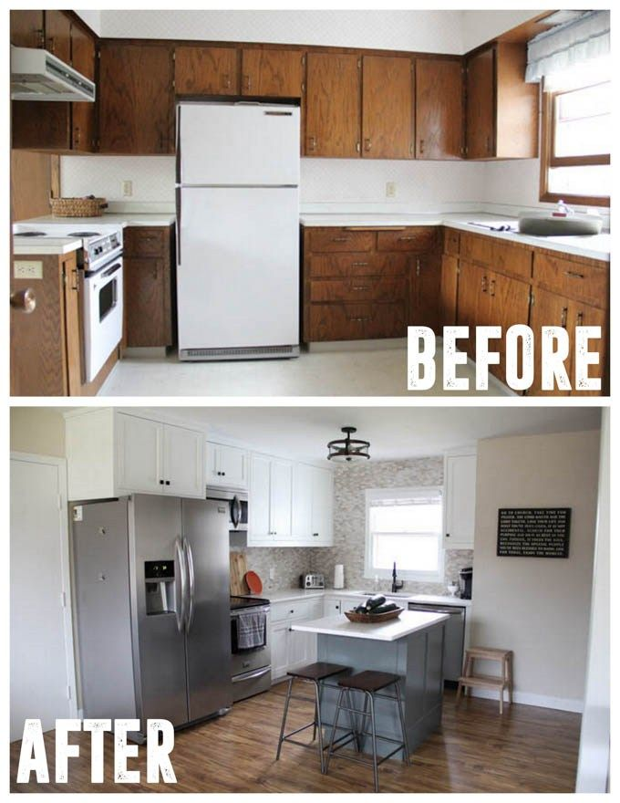 How To Flip A House Quickly Cheap Kitchen Remodel Farmhouse Kitchen Remodel Kitchen Remodel Small