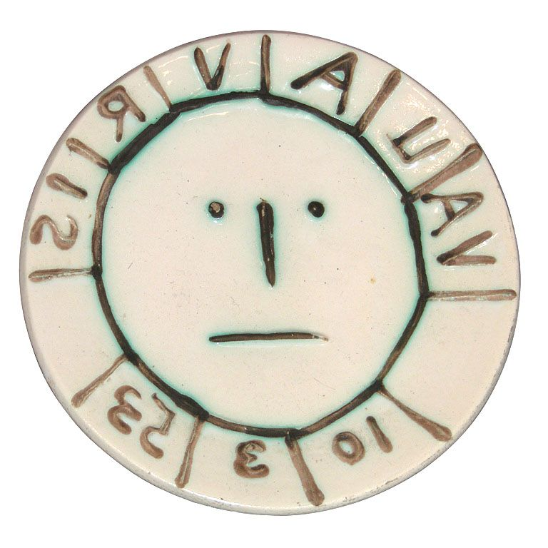 1953 ceramic dish by Picasso for Vallauris