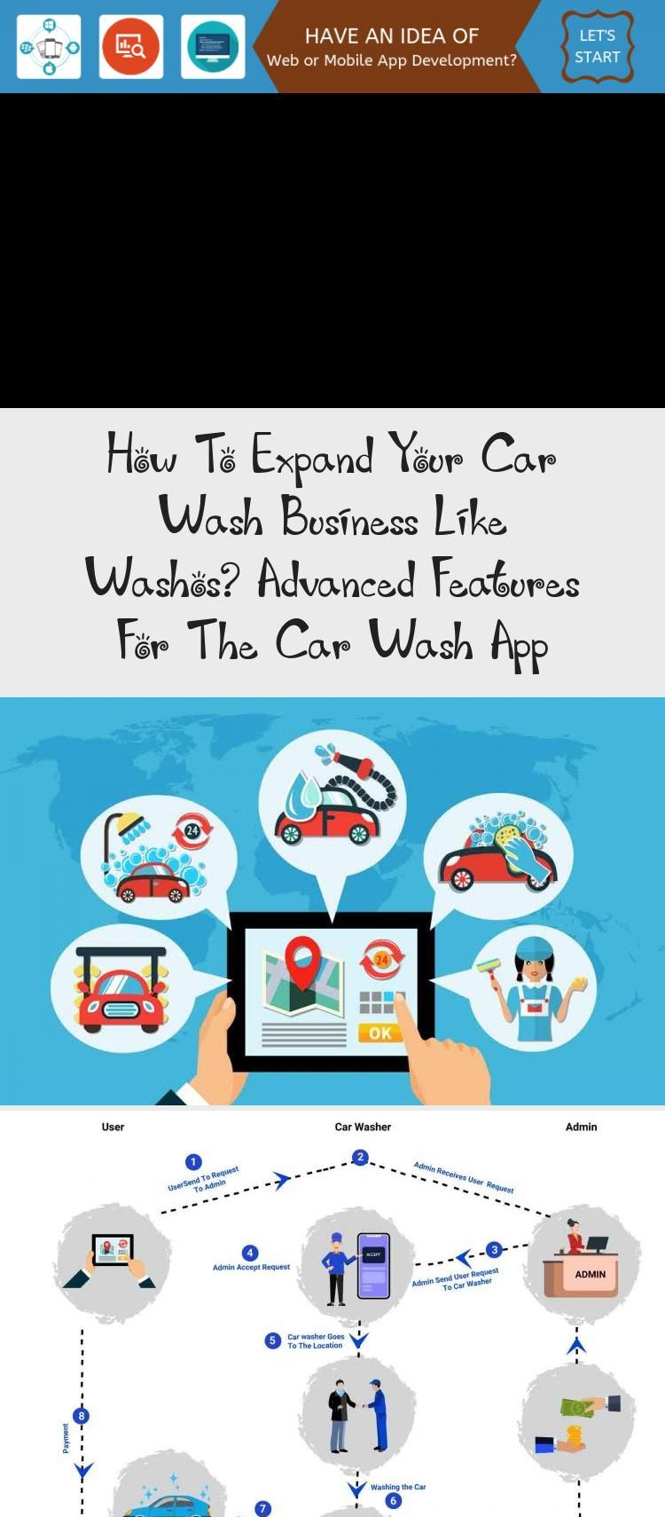 How To Expand Your Car Wash Business Like Washos Advanced Features For The Car Wash App Technology Car Wash Car Wash Business Car Wash Services
