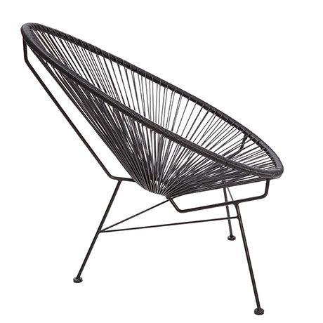 acapulco chair von sternzeit design hz no 1 balkone pinterest stuhl schwarz havana und stuhl. Black Bedroom Furniture Sets. Home Design Ideas