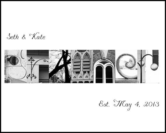 CUSTOM letter art name signs by whatsyourstoryphoto on Etsy, $10.00