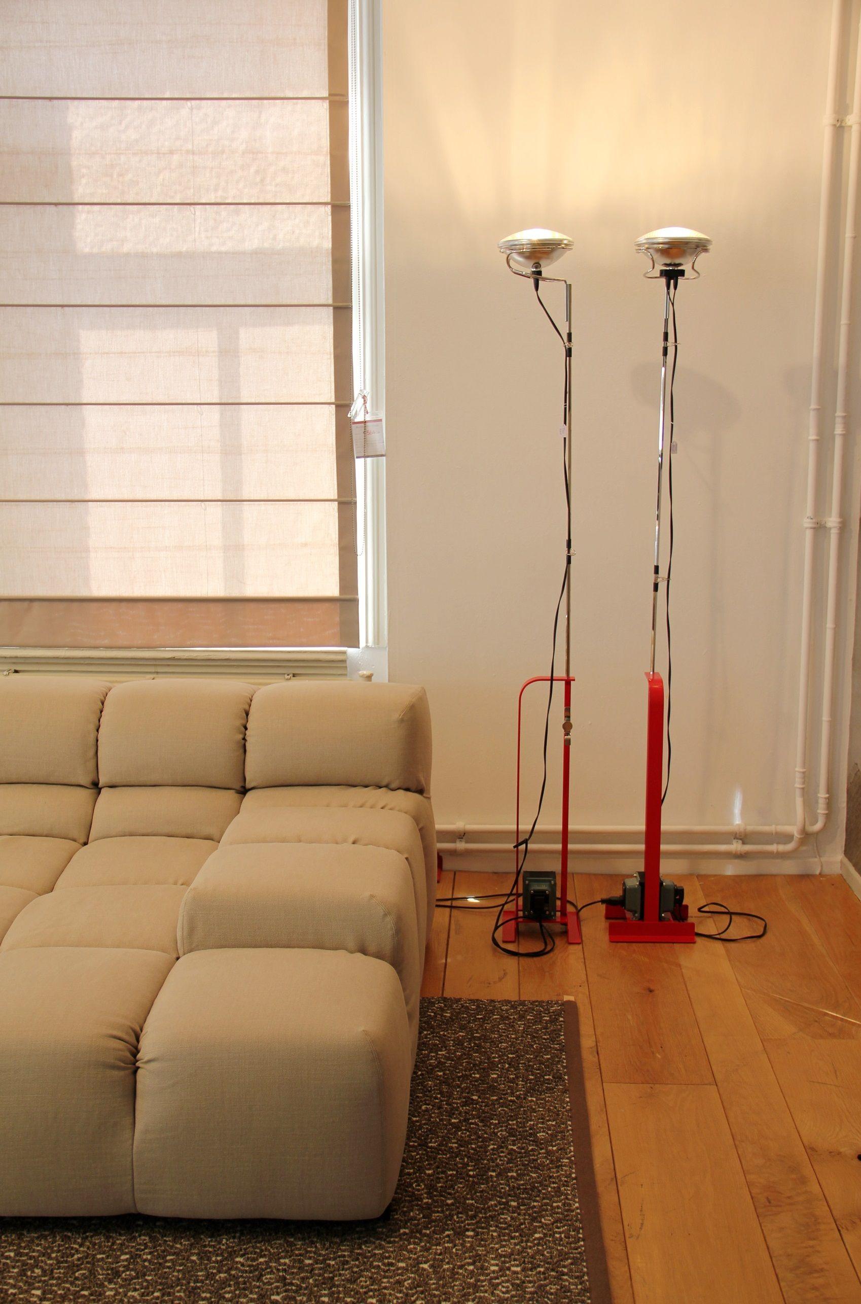 Floorlamp Toio Colour Red By Flos Interior Design Living Room Flos Floor Lamp