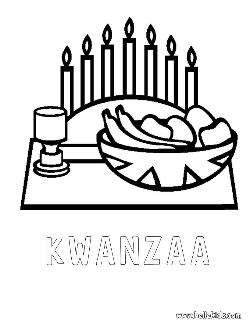 Kwanzaa Coloring Pages Happy Kwanzaa Happy Kwanzaa Printable Coloring Pages Coloring Pages For Kids