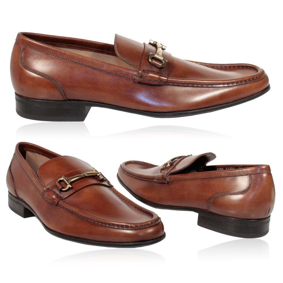 20c170c2bfb4d Salvatore Ferragamo Mens Shoes Calf Leather Camel Punta Loafers ...