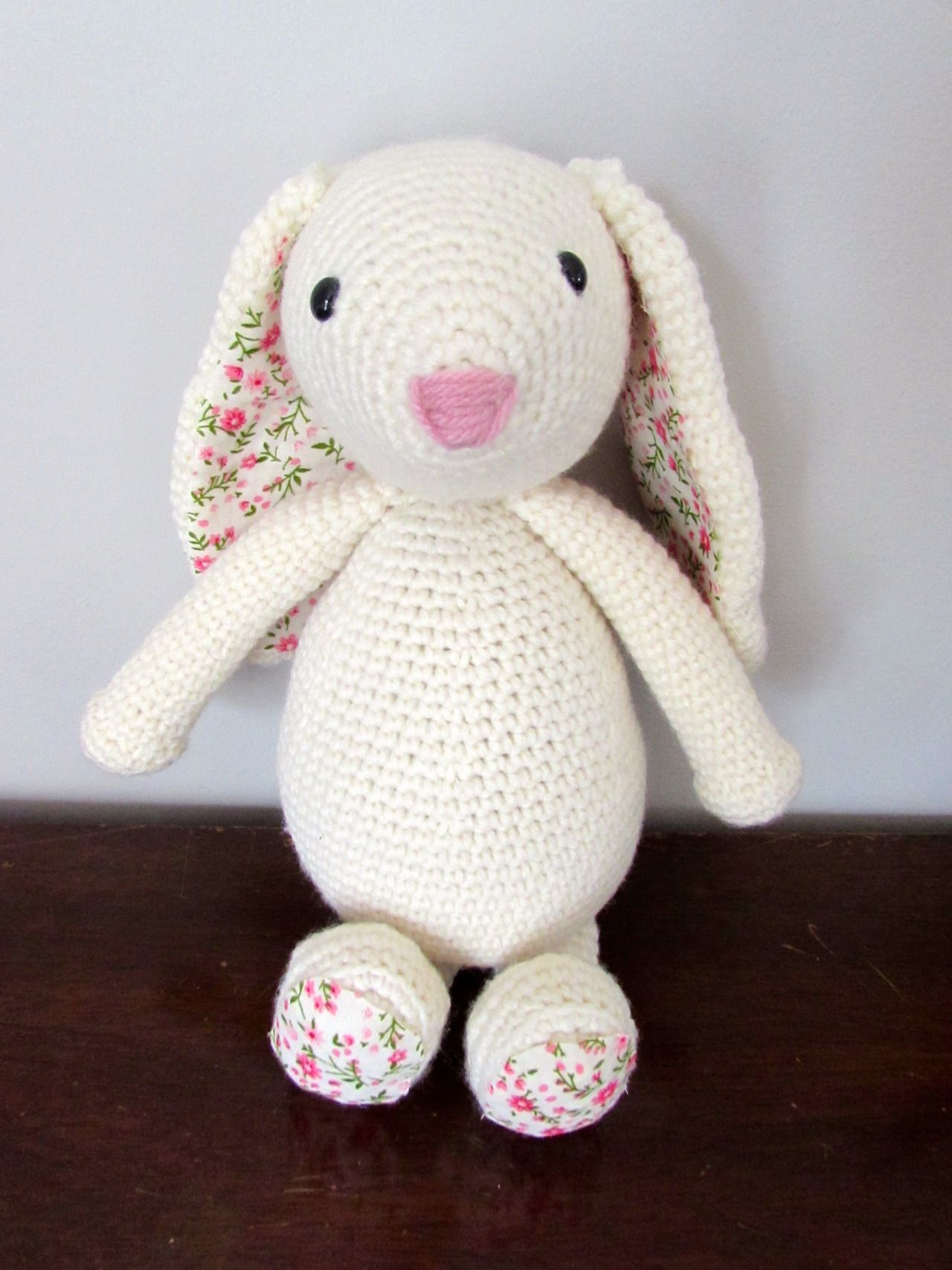 Such a cute bunny and so huggable. | Crafts | Pinterest