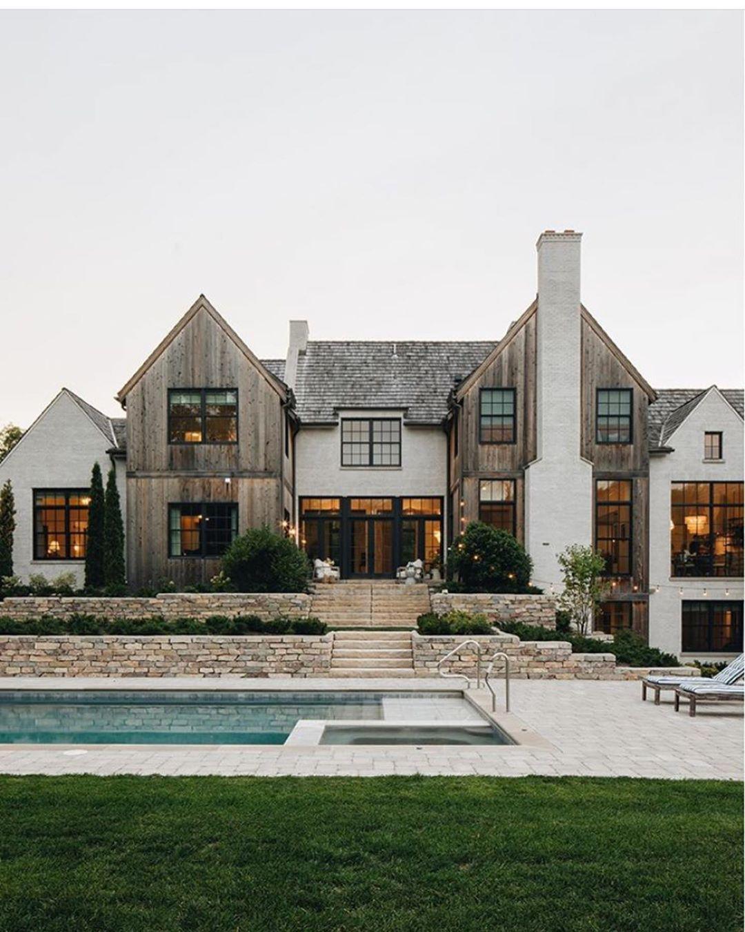 Cecelia On Instagram Living The Dream Tag A Friend Credit Katemarkerinteriors Builder Luxury Homes Dream Houses House Exterior Dream Home Design