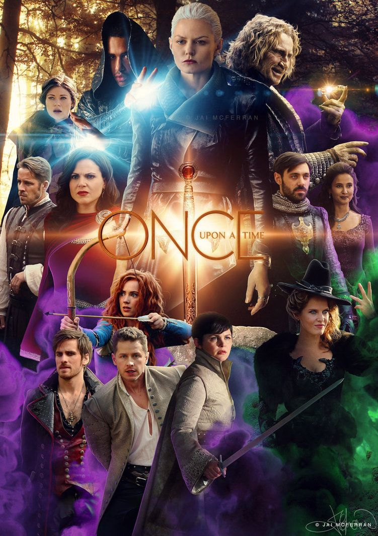 Once Upon A Time S5a Poster By Jaimcferran D9p571x Jpg 751 1063 Once Upon A Time Funny Once Up A Time Once Upon A Time