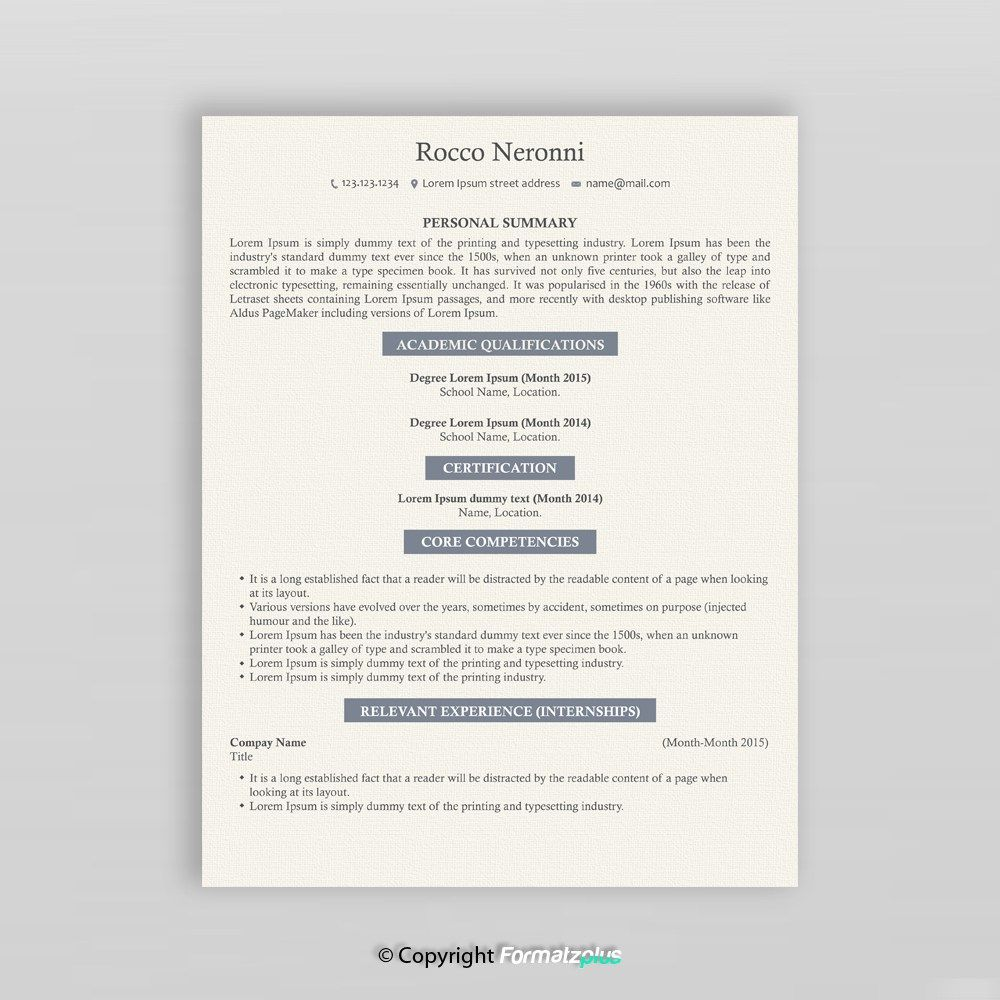 IT Specialist Resume Design If you are looking forward to