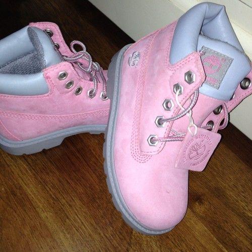 Girls Genuine Timberland Boots, Never