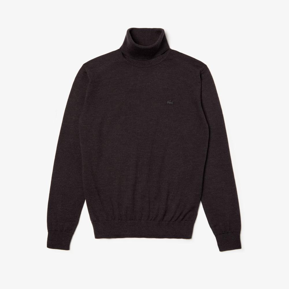 vente à bas prix 2019 original style distinctif Pull col roulé Homme en jersey de laine uni   sweat, pull ...