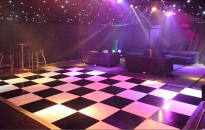 Snap together Modular Dance and Event Floor Led dance