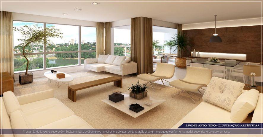 City Hall Goiania - Apartamento 4 suites no parque areiao em Goiania - IMOVEIS DE LUXO GOIANIA