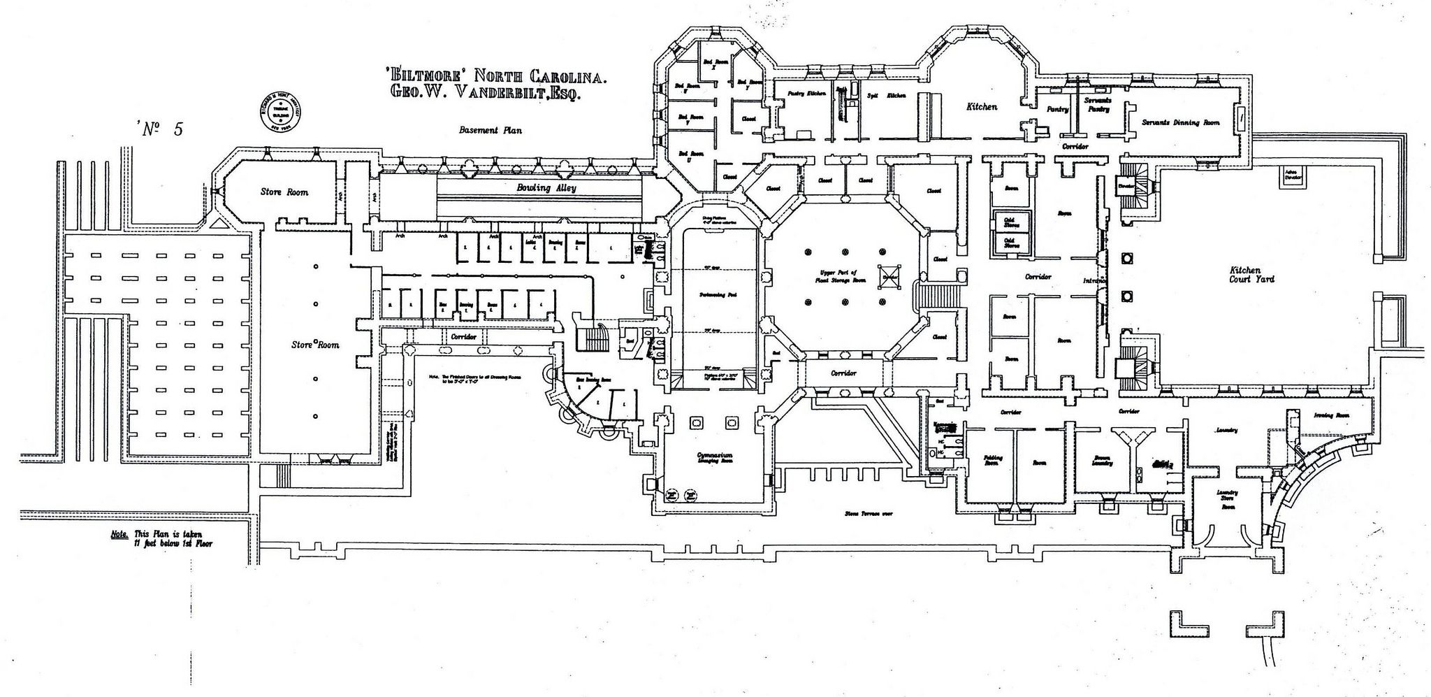 Biltmore 123 Biltmore House Basement Floor Plans House Floor Plans
