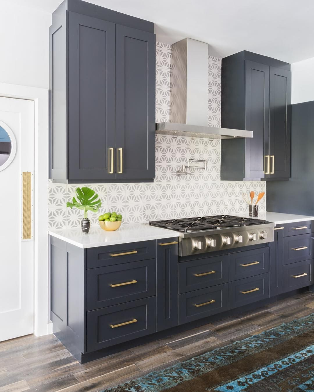 A Kitchen We Designed And Worked In Tandem With Elizabeth Mollen Stone Textile Studio Austin Interior Kitchen Design Kitchen Renovation Kitchen Remodel