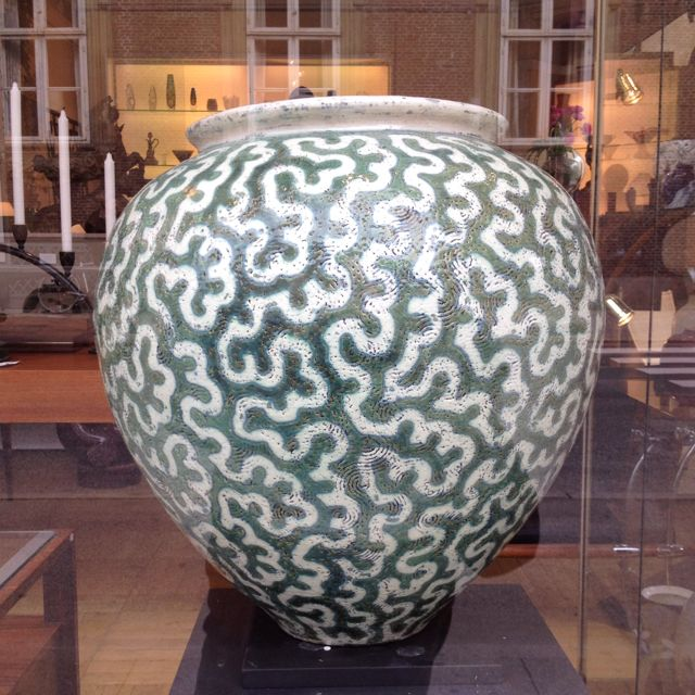 Lovely And Very Expensive Vase In Cph Love The Pattern Jarrones