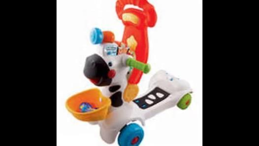 Cheap Vtech 3 In 1 Learning Zebra Scooter On Sale Video