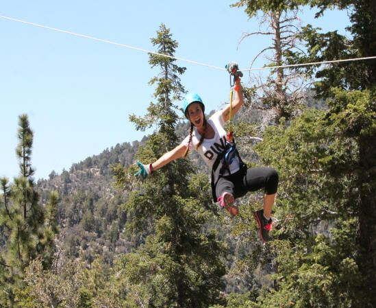 Action Zipline Zipline Outdoor Adventures Fun Family Friends Parties And Team Building In Big Bear California Zipline Adventure Ziplining Adventure Tours