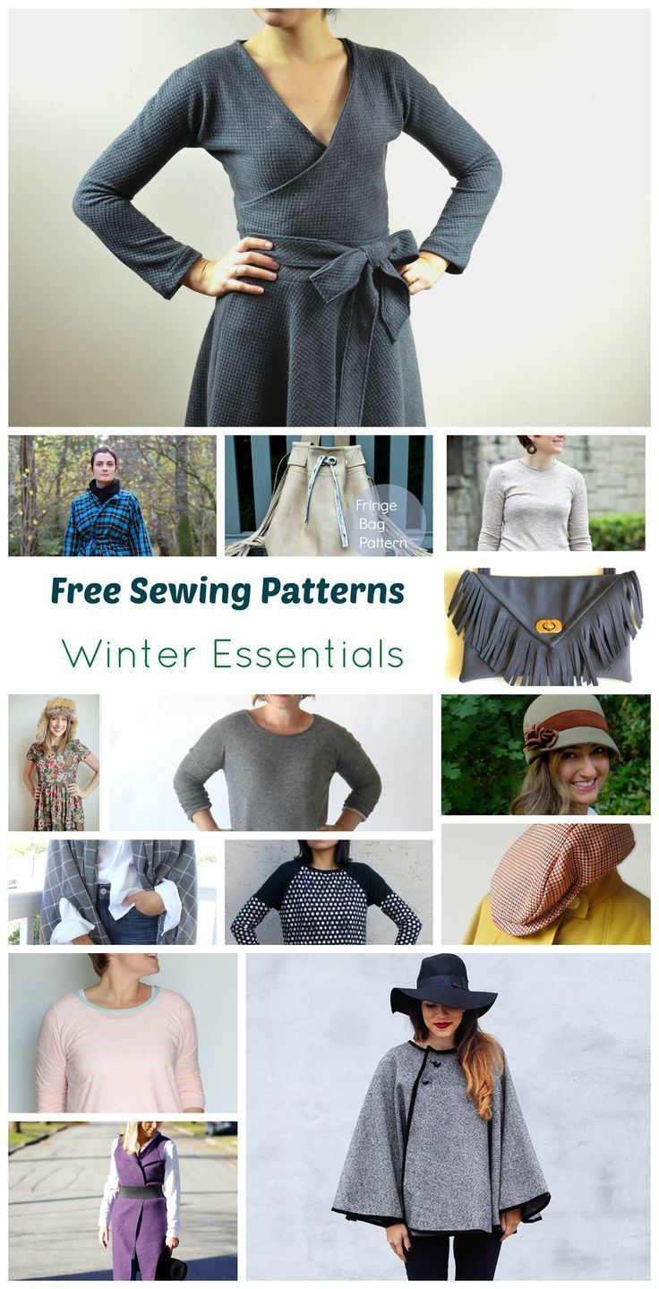 15 free sewing patterns winter essentials this site had lots of 15 free sewing patterns winter essentials this site had lots of roundups and tips just sewing pinterest winter essentials sewing patterns and jeuxipadfo Images