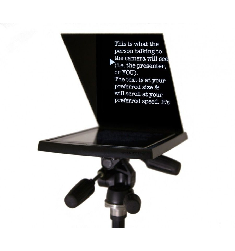 Teleprompter Autocue Promptit® Maxi Prompts, Glass