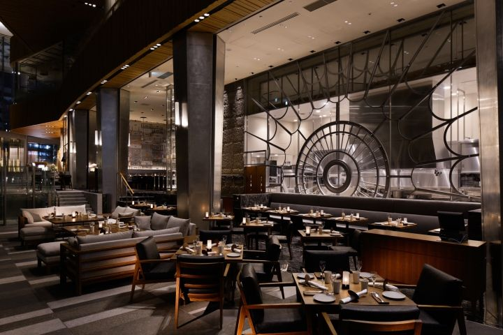 Above Grill Bar By SWANS ID Tokyo Japan Retail Design Blog