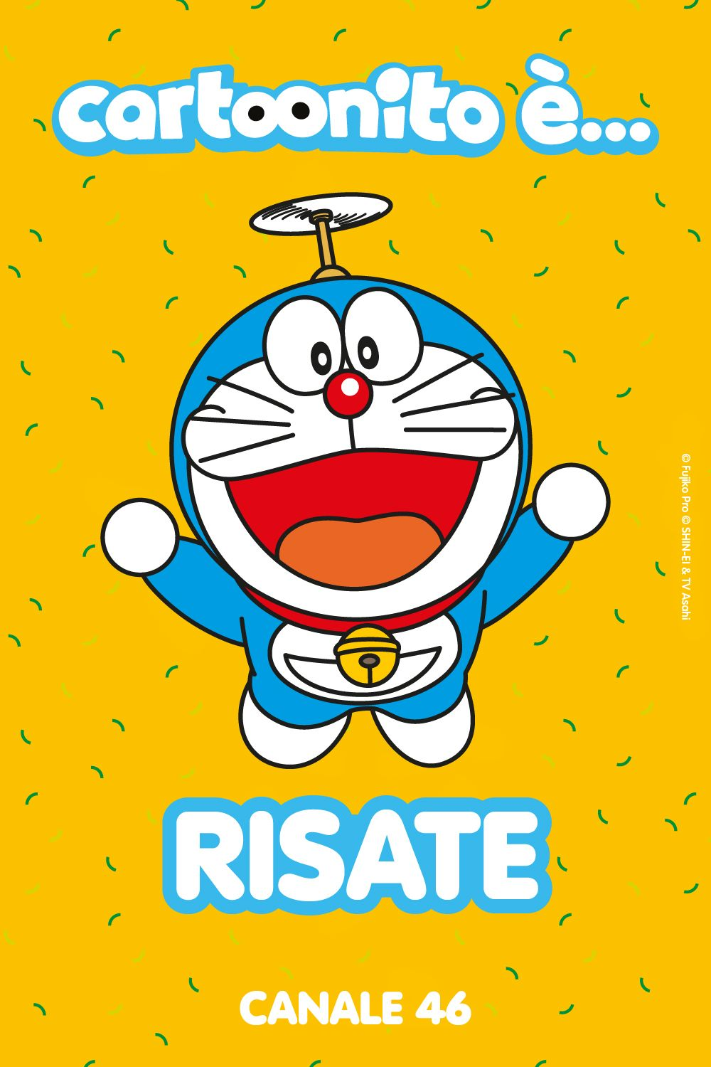 Doraemon è su Cartoonito!