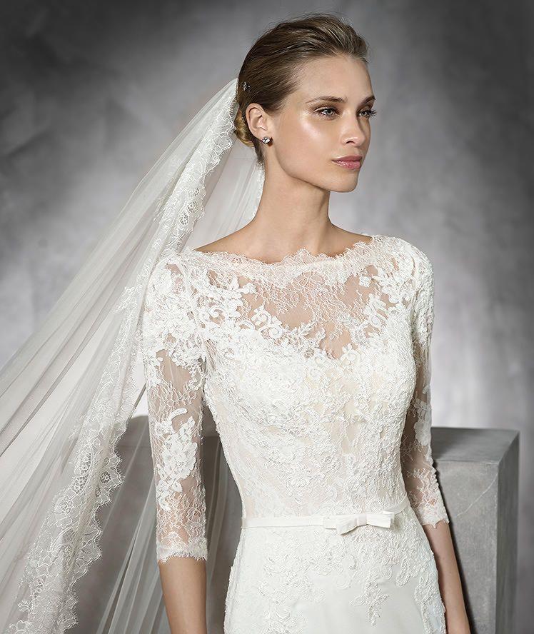 TANE, Wedding Dress 2016 | Pronovias | Available at LuLu\'s Bridal ...
