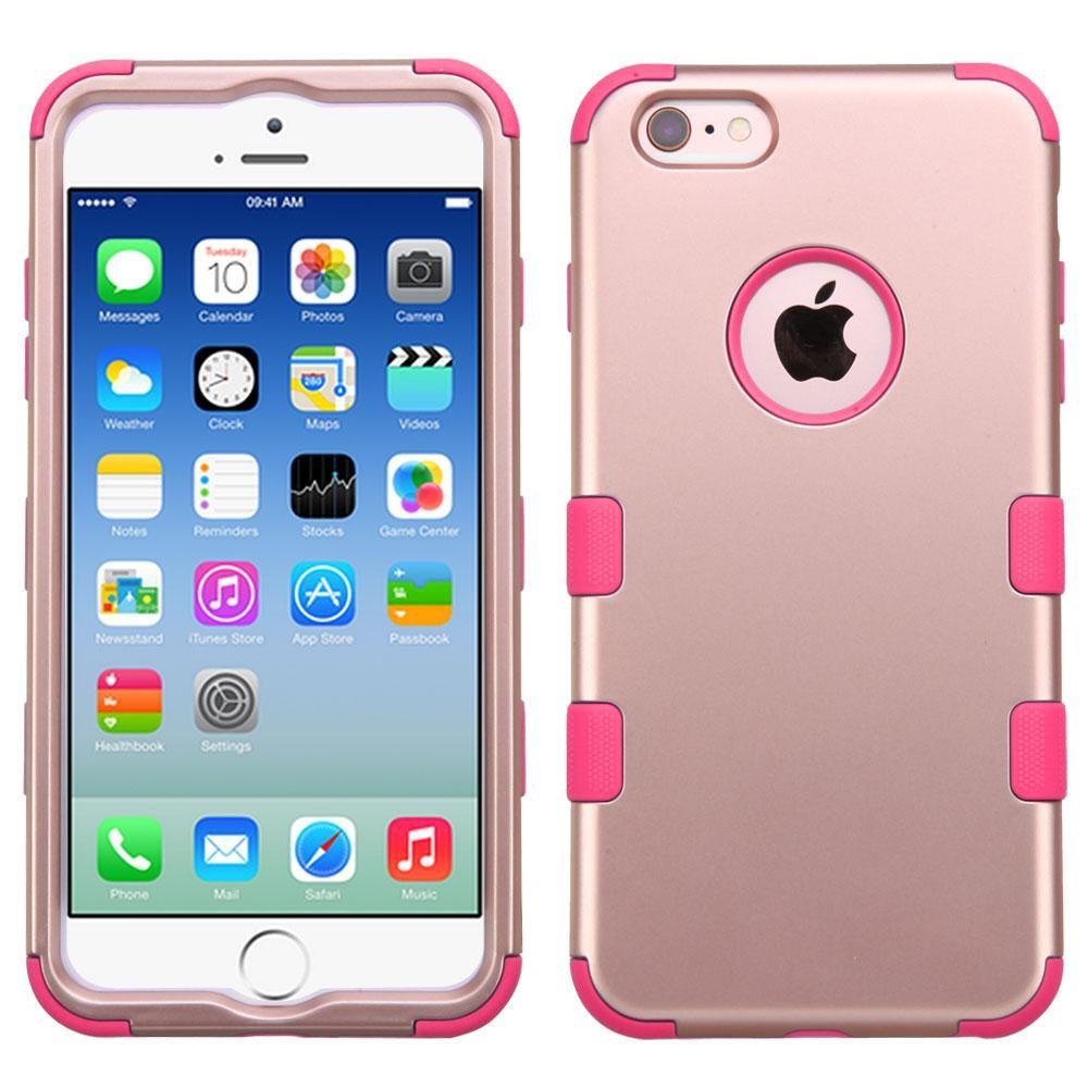 Mybat tuff hybrid iphone 66s case rose goldpink