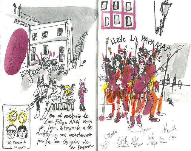 Carnaval de Cádiz. Los Indios. by inmaserranito, via Flickr
