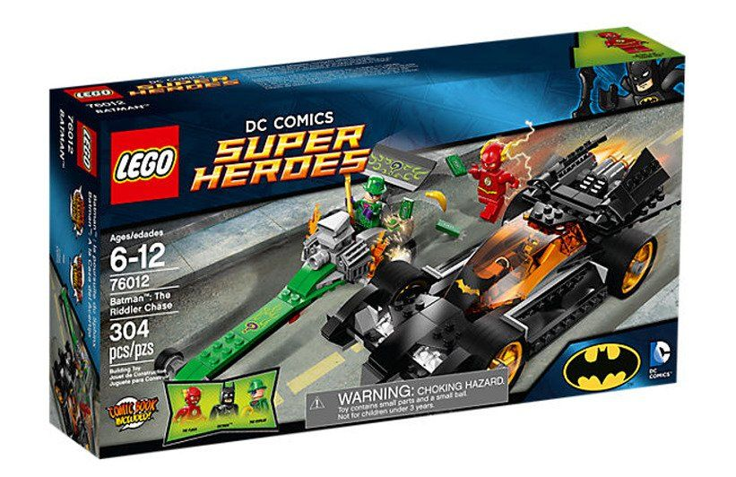 DC COM1CS on Lego dc, Riddler