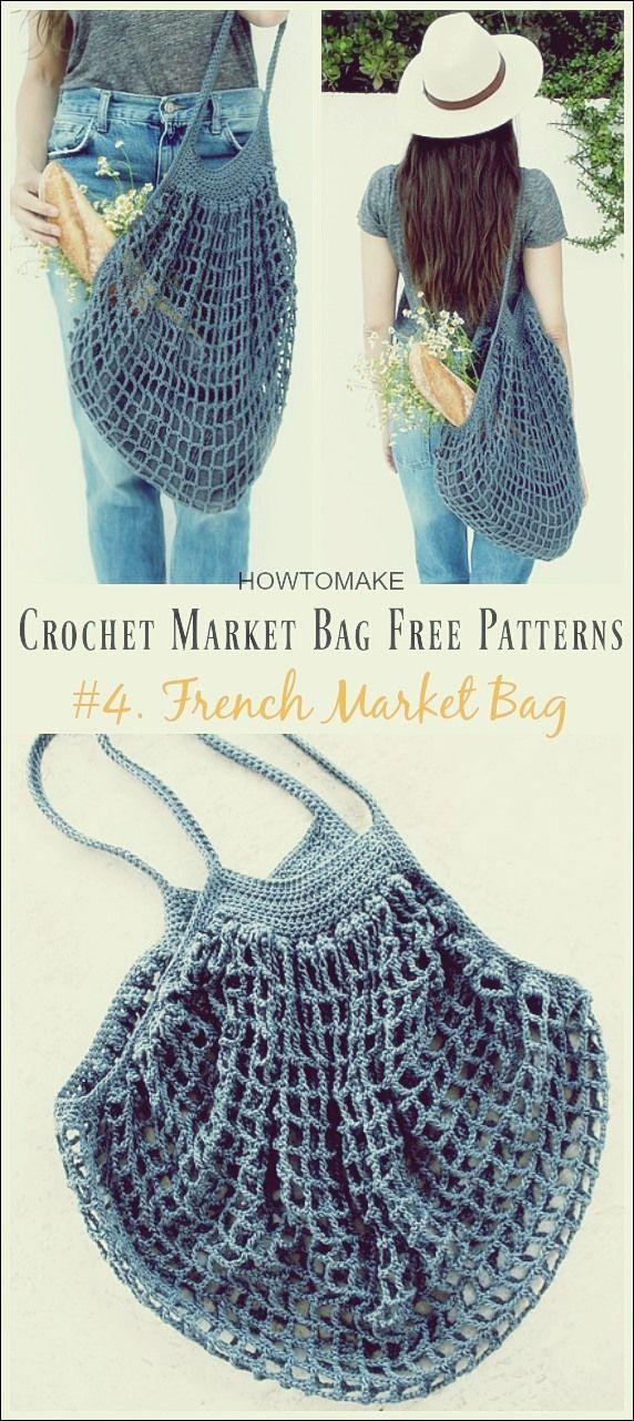 Häkeln Sie Market Bag #bagpatterns