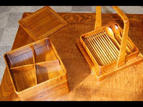 In Japan, traditional wooden furniture is assembled without using a single nail. Advanced sashimono