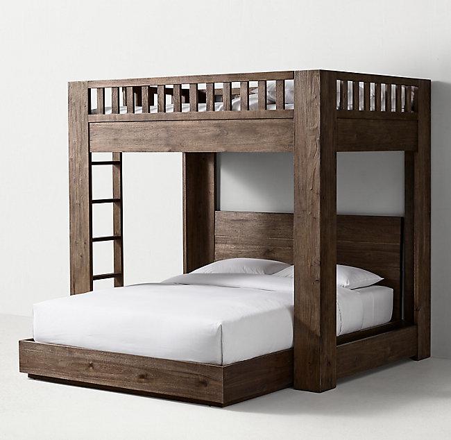 Callum Loft Bunk Bed In 2020 Loft Bunk Beds Bunk Beds Queen