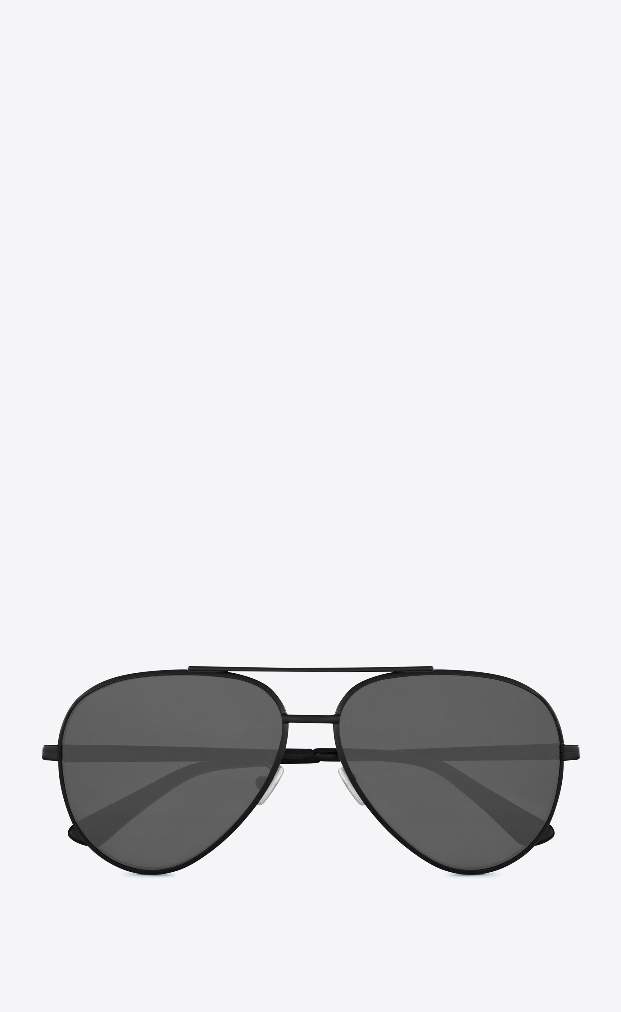 Zero Laurent Metal Sunglasses Black Classic In Semi 11 Matte Saint dOpqwtO