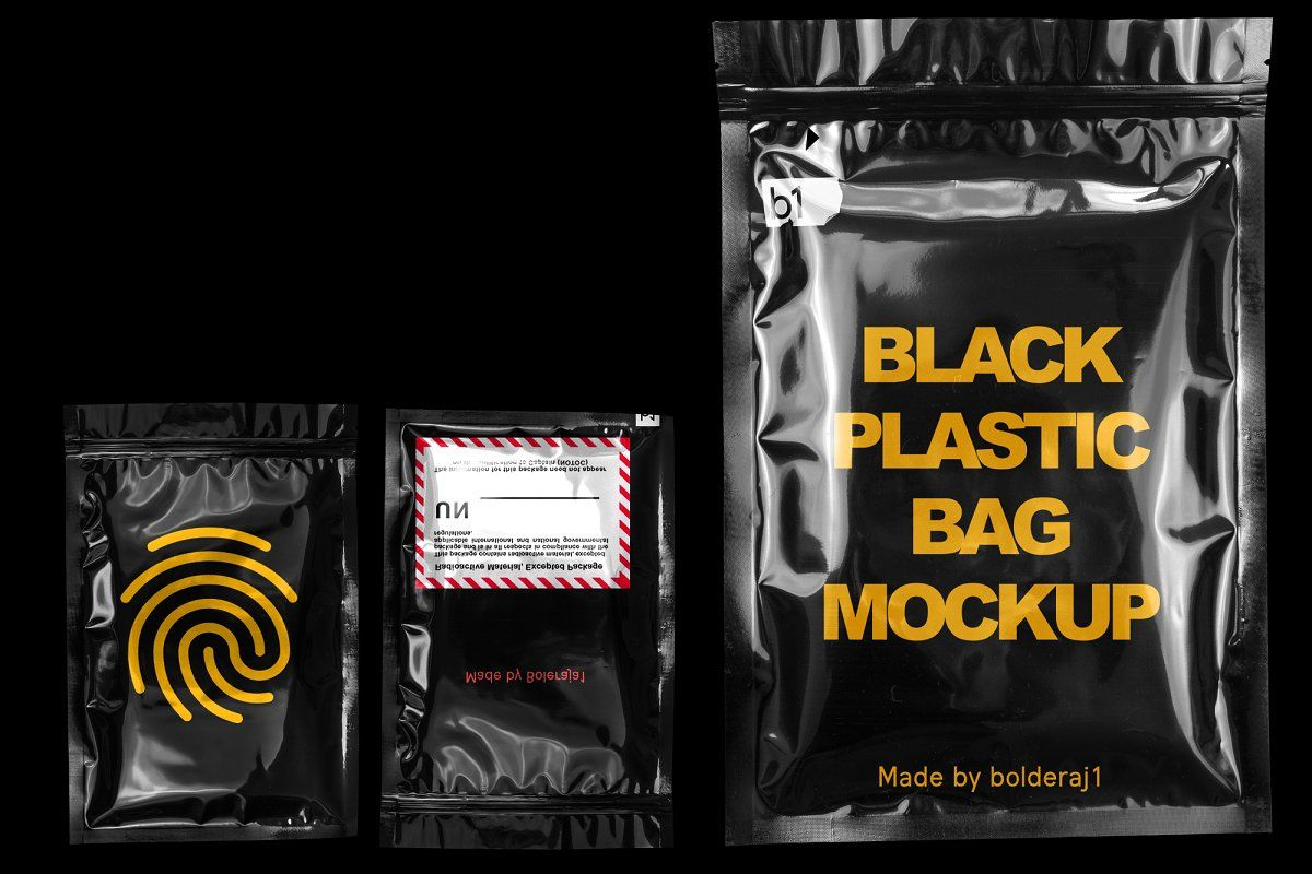 Download Black Plastic Bag Mockup Bag Mockup Mockup Stationery Mockup