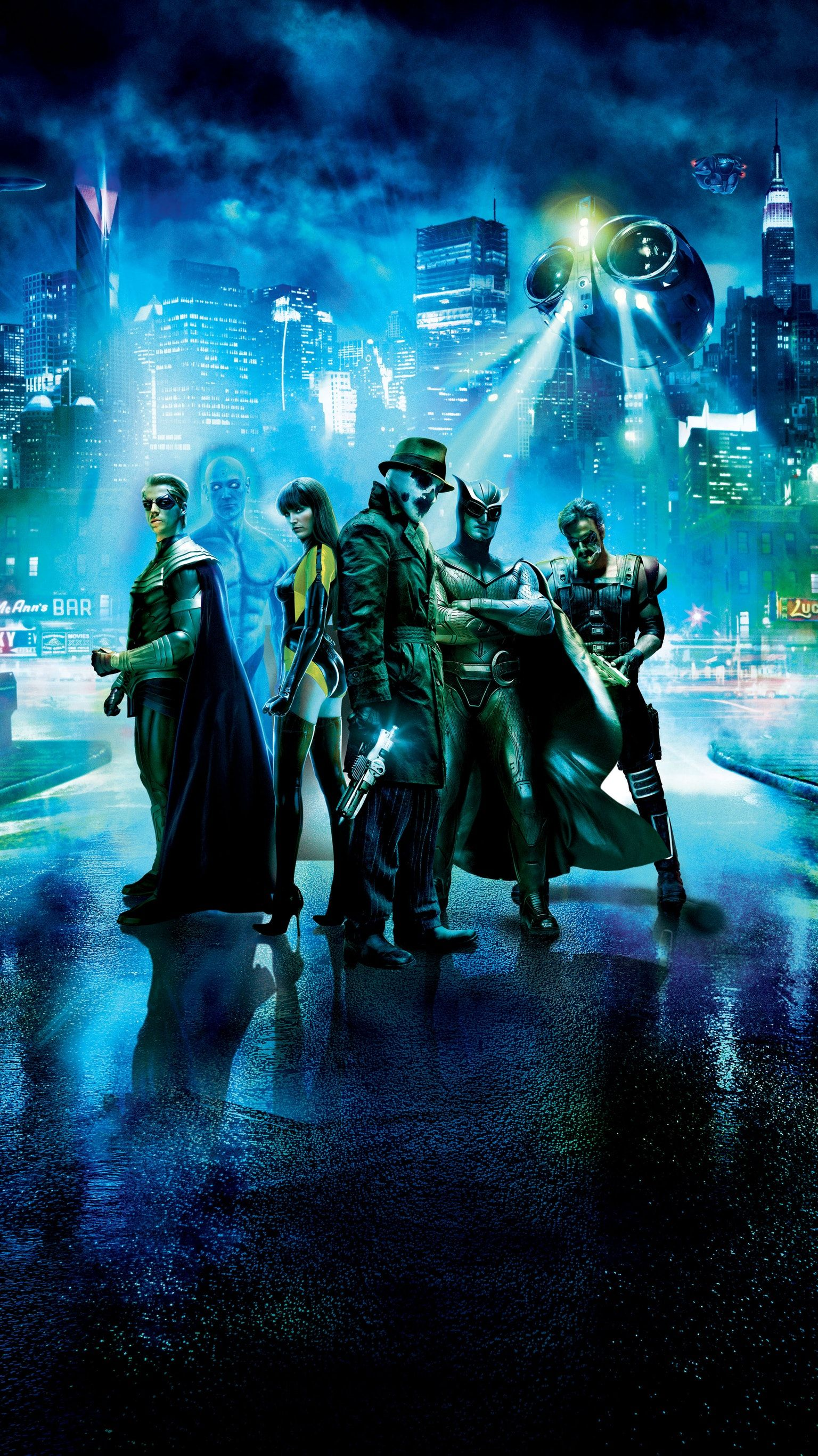 Watchmen 2009 Phone Wallpaper Moviemania In 2020 Superhero Movies Watchmen Silk Spectre