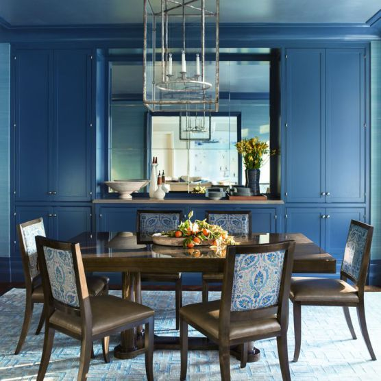 Try Benjamin Moores Historical Color HC 155 Newburyport Blue Looks Fabulous On Cabinets In